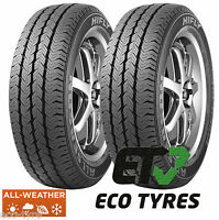 2X Tyres 205 65 R16C 107/105T 8PR All weather All season M+S CrossClimate winter