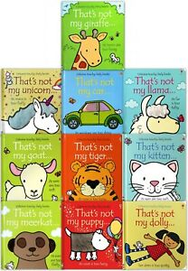 Thats-Not-My-Toddlers-Collection-Usborne-Touchy-Feely-10-Books-Set-Kitten-Puppy