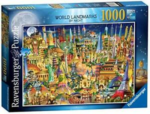 Ravensburger-Jigsaw-Puzzle-WORLD-LANDMARKS-BY-NIGHT-1000-Pieces