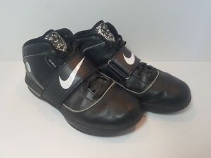 252a82be1d Nike Zoom Soldier IV Lebron James 407630-001 Black Witness High Top ...