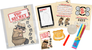 Pre-Filled-Top-Secret-Party-Bag-Children-039-s-Parties-Wedding-Birthday-Rewards
