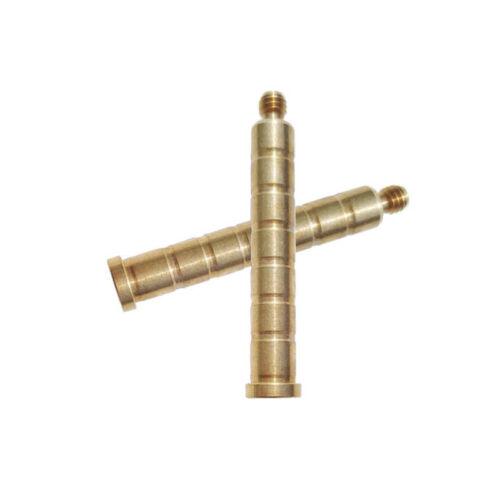 100gr Arrow Insert Brass Base ID6.2mm Arrow Shaft Screw Weight Archery Bow