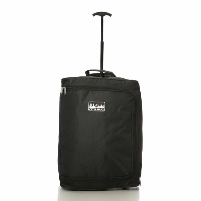 Ryanair Max Size 55x40x20cm 42L Lightweight Wheeled Cabin Bag Carry on Luggage