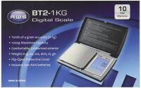 American Weigh Scale Bt2-1kg Digital Gram Pocket Jewelry Scale, Black, 1000 X 0. on Sale