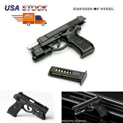 "1//6 Semi-automatic QSZ92 Pistol Hand Gun Weapon Model Toys F 12/"" Action Figure"