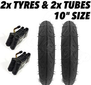 2 X Kinderwagen Räder & 2 X Rohr 25.4cm X 2 Quinny Buzz Speedi Huack ...