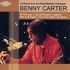 All That Jazz: Live At Princeton/Legends/New York Nights: Live At The Iridium/Songbook by Benny Carter (Sax) (CD, Jul-2011, Nimbus Records)