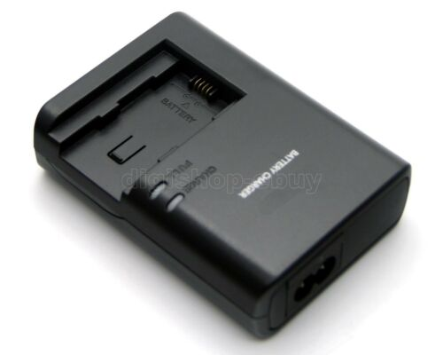 Cargador de batería para Canon LEGRIA HF M52 HF M56 HF M60 HF M506 CG-700 Nuevo