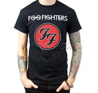 Foo Fighters Logo Tour Men's Black Tee T-Shirt Top S M L XL XXL