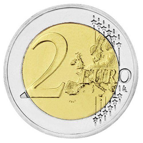 "J 2009 Germany 2 Euro UNC Coin /""Economic /& Monetary Union 10 Years/"" Hamburg"