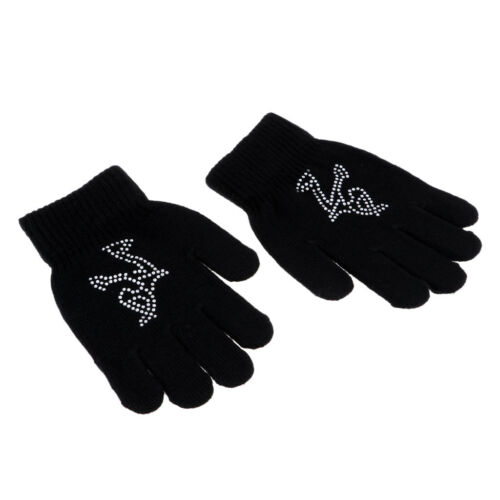 Kids Gloves for Age3-12 Knit Glove for Outdoor Sport Cycling Skating Hiking