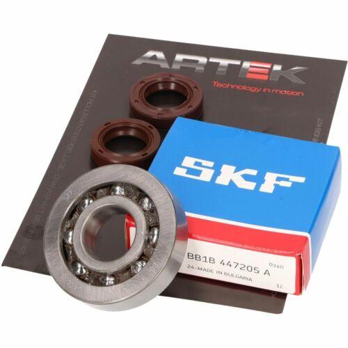 Kurbelwellenlager Satz ARTEK K1 Racing SKF Polyamid für Piaggio Aprilia,Derbi,Gi