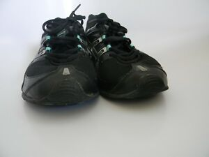 21df5780567 Mens Asics Gel-Frantic 5 Black, Silver & Blue Running Shoes, Size 11 ...