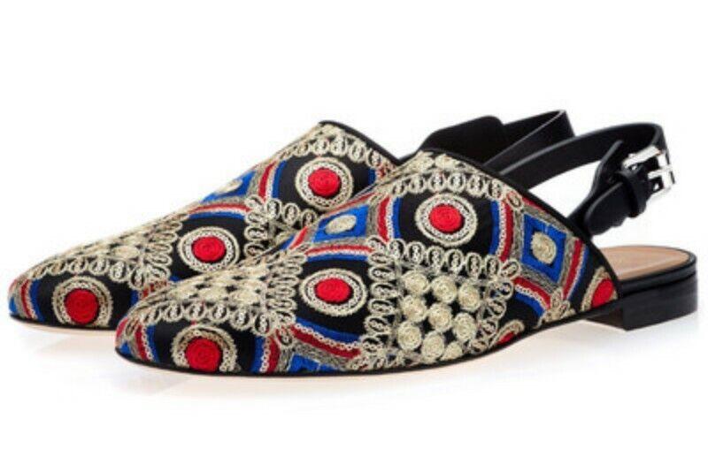 Men's Europe Embroidery Flat Wearproof Driving scarpe Casual Slip On On On Spring scarpe b3c6f3