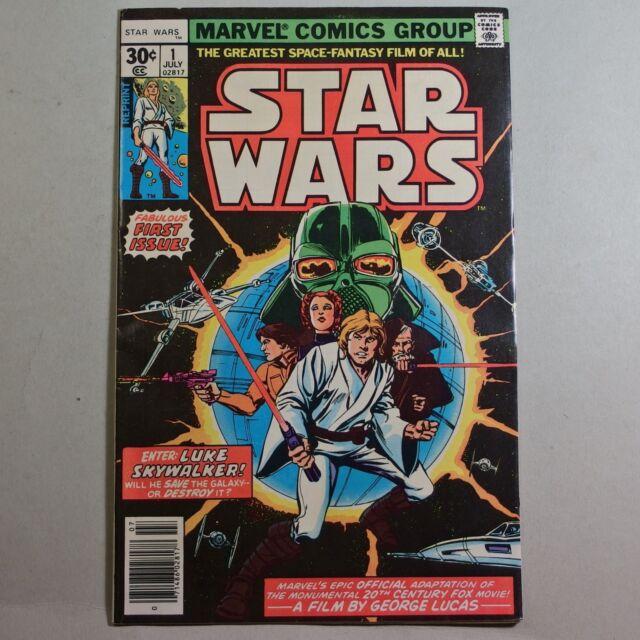 Star Wars #1 2nd printing (Jul 1977, Marvel)
