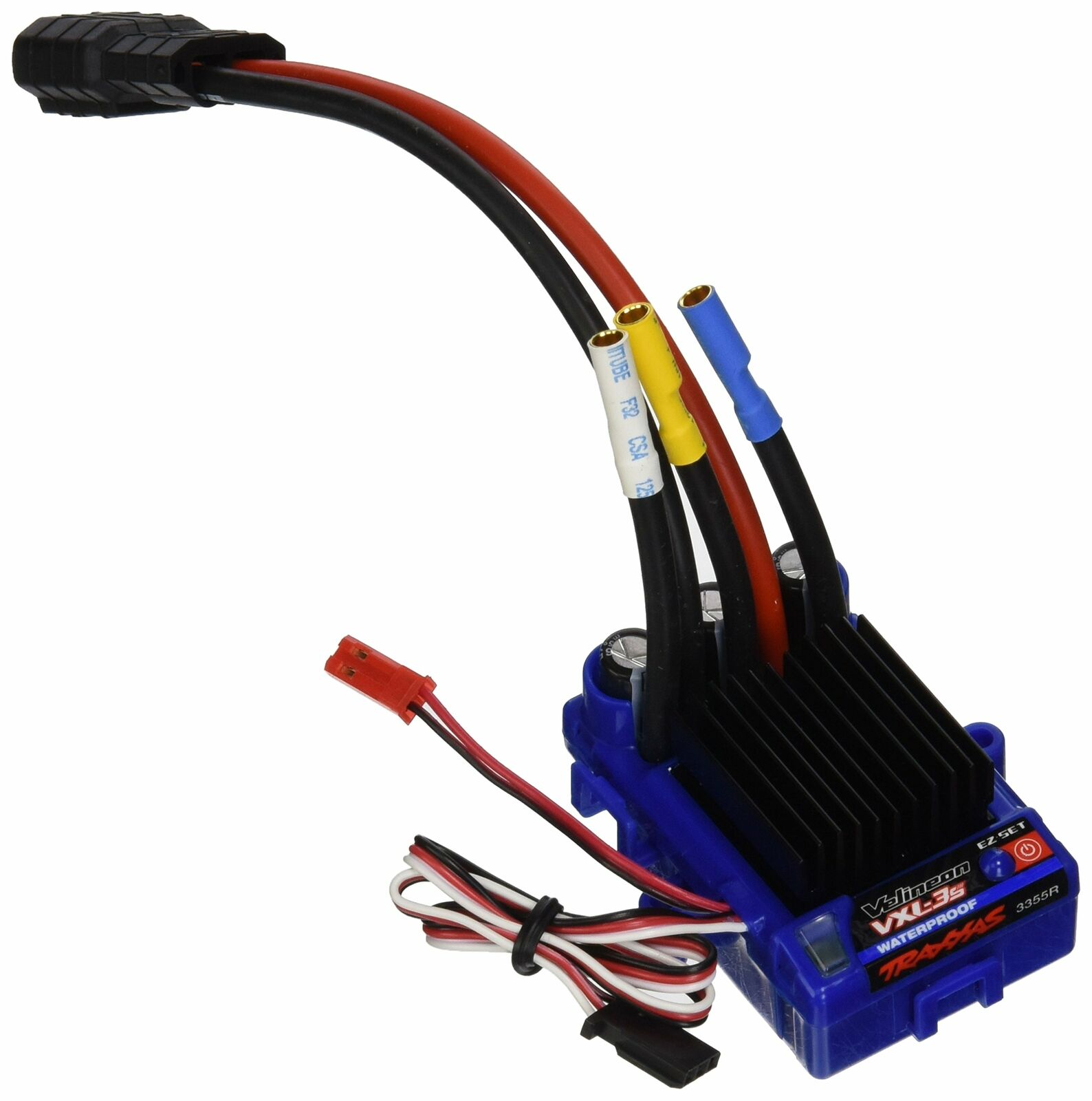 Traxxas 3355R Velineon VXL-3s control electrónico de velocidad, resistente al agua (sin escobillas)