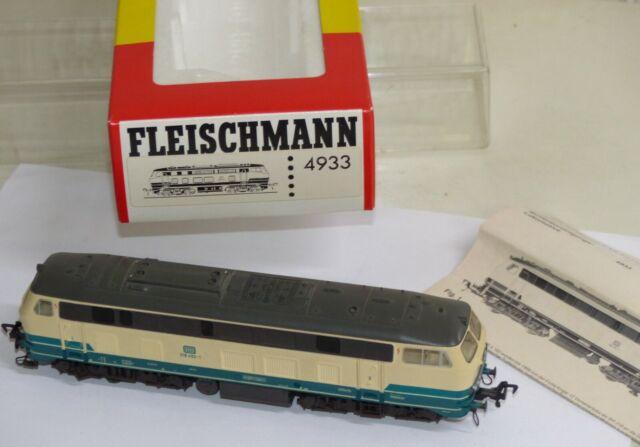Fleischmann 4933 Diesellok BR 218 452-1 DB Schienenreinigungslok H0 OVP