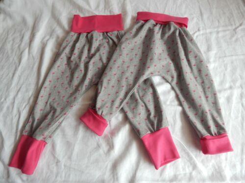 Mitwachshose 110//116  versch Farben und Muster Pumphosen aus Jersey  Gr