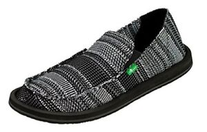 Zapatos casuales Mens Yew Knit Slip On Mesh 11 M Charcoal 1016365 4v96f9DyD