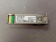 Lot of 10 Arista SFP-10G-SR XVR-00001-02 10GB SFP Transceiver