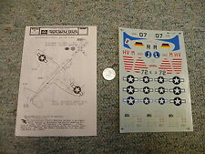 Microscale decals 1/72 72-260 P-47D Bubbletop  K74