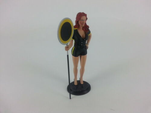 Le Mans Miniatures Grid Girl Yellow 1//18