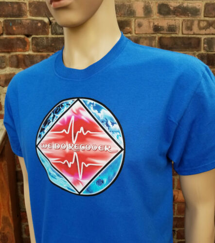 Graphic T Galaxy Heart Beat Select Your Color S-4X Narcotics Anonymous