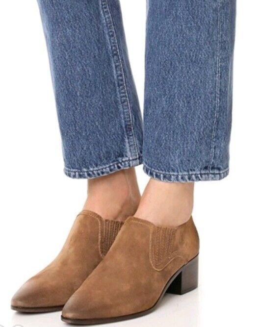 New frye Women Eleanor Western Shootie  Size 6.5 Chestnut Brown Pointed Toe