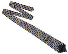 CHARLES TYRWHITT Jermyn Street London Mens Geometric Multi Check Silk Tie RRP£40