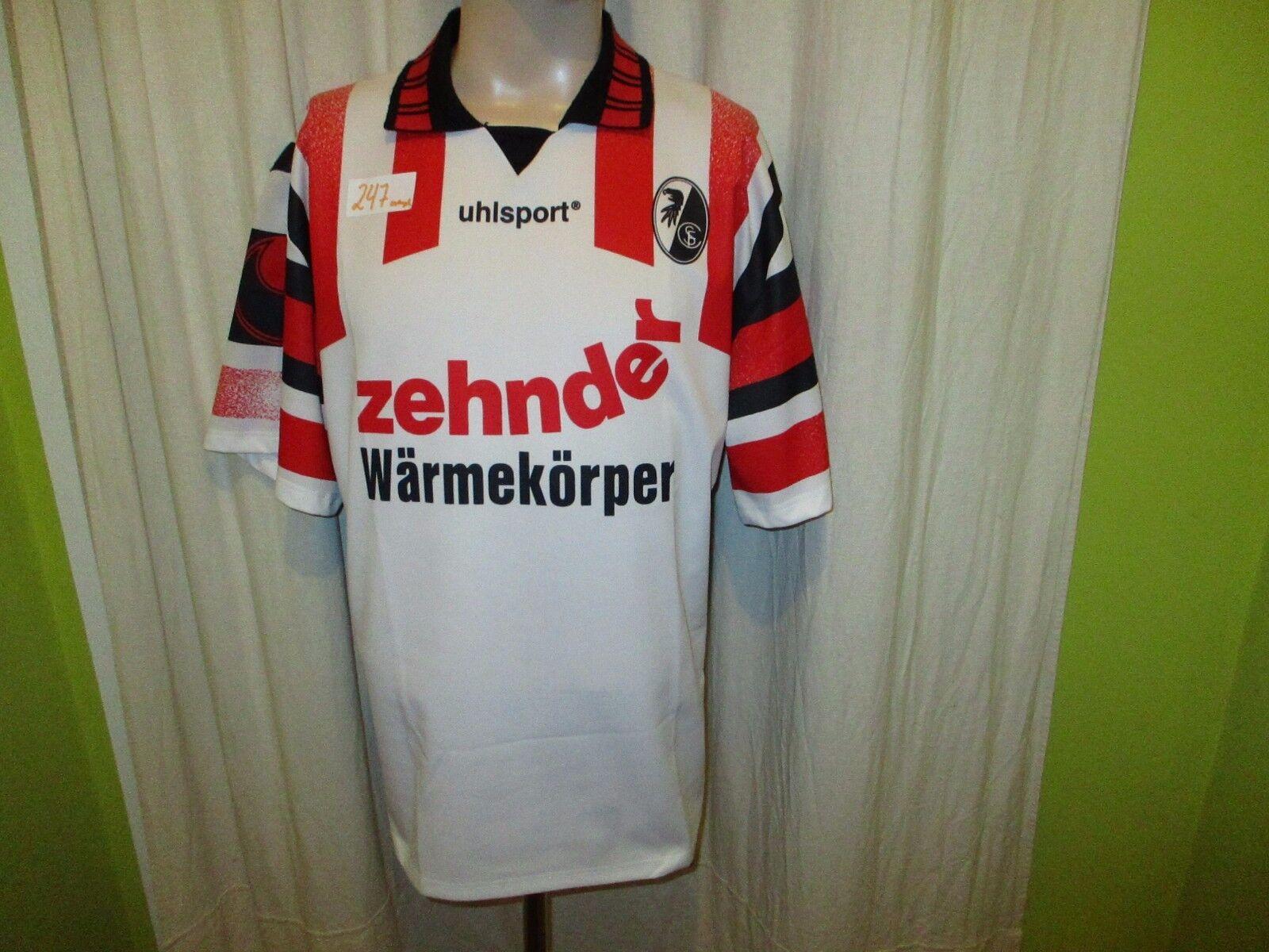 SC Freiburg Original Uhlsport Jersey 1995 96  Zehnder Heat Body  Größe XL Top