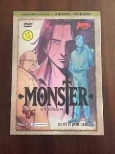 MONSTER-VOL-3-BOX-SET-4-DVD-POSTCARDS-BOOKLET-16-PAGS-EDICION-LIMITADA