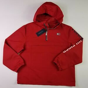 Friendly Vintage Tommy Hilfiger Down Insulated Jacket Size Large Red Clothing, Shoes & Accessories