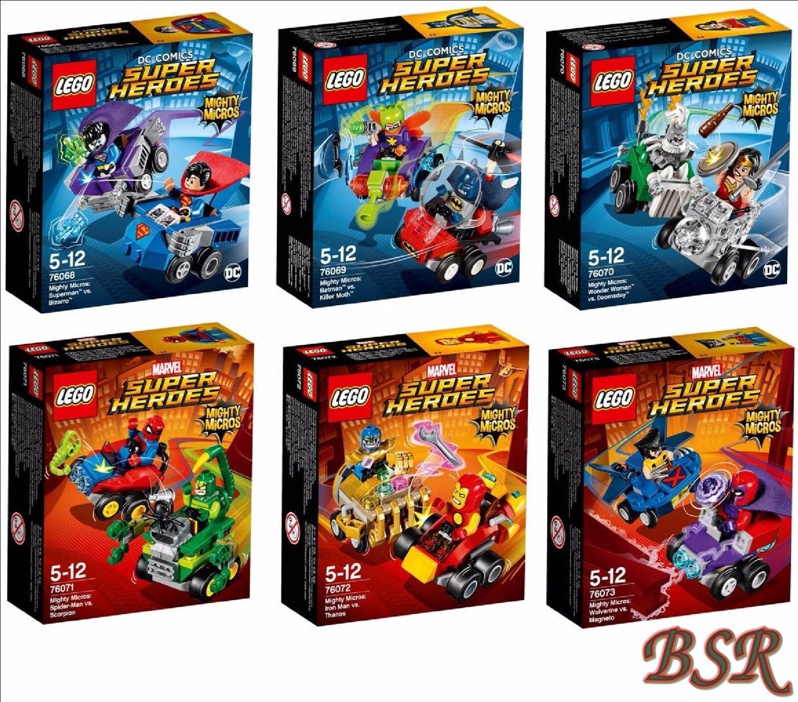 LEGO ® 76068 & 76069 & & & 76070 & 76071 & 76072 & 76073 & 0. -€ Expédition! NOUVEAU & NEUF dans sa boîte | Belle  7f02b9