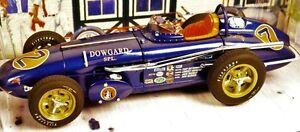 Indy-GP-F-1-Race-Car-Ford-Built-1963-25-Vintage-18-Model-24-Sprint-43-T-12-Dirt