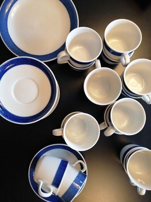 Porcelæn, Kopper, underkopper