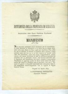 Amministrazione-borbonica-Girgenti-27-aprile-1857