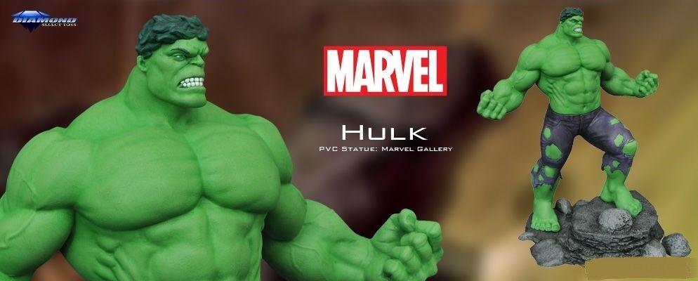 Diamond Select giocattoli Marvel Gtuttiery Hulk PVC 11' cifra