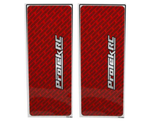 Red 2 PTK-1102-RED ProTek RC Universal Chassis Protective Sheet