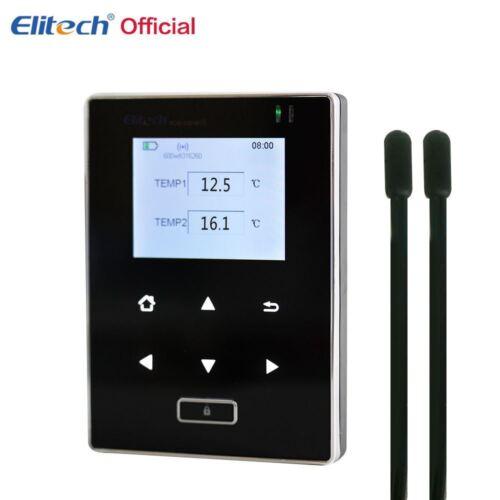 Elitech RCW-600 Wi-Fi Inteligente Doble Sensores De Temperatura Registrador de datos remoto