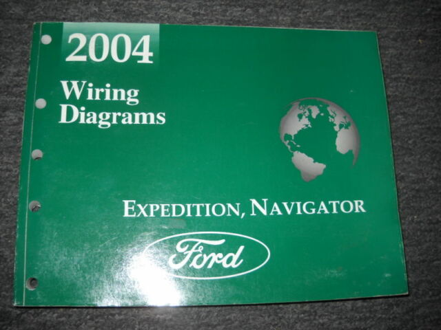 2003 Ford Expedition Lincoln Navigator Electrical Wiring Diagram Manual Ewd X