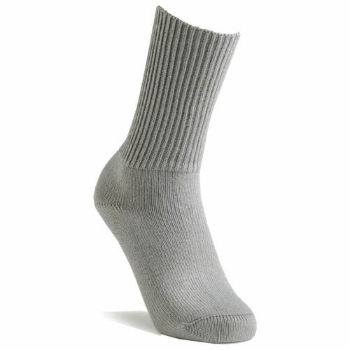 Homme Chaud Épais Confortable Loisirs Chaussettes-Taille 6-11 Fab Qualité Pack De 2-Gris