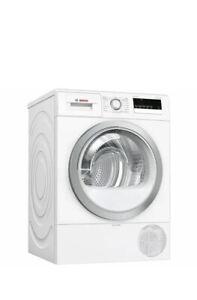 BOSCH Serie 4 WTR85V21GB 8 kg Heat Pump Tumble Dryer – White