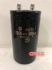 For Hcg 500v 22000uf 65x130 Inverter Filter Energy Storage Capacitor