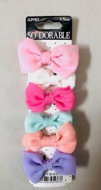 multi one size Sodorable 6-Pack Hair Bows