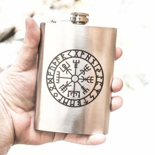 8oz Vegvisir Flask L1