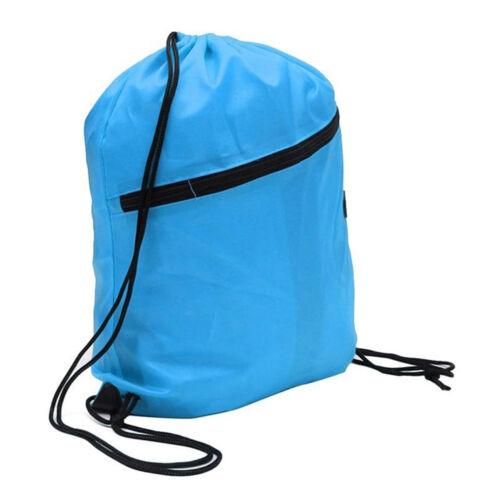 Cinch Sack Duffle École Gym Environmental avec cordon de serrage Sac Pack Étui Sac à dos