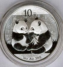 China 10 Yuan 2009 BÄR PANDA  @ 1 oz silber reine @