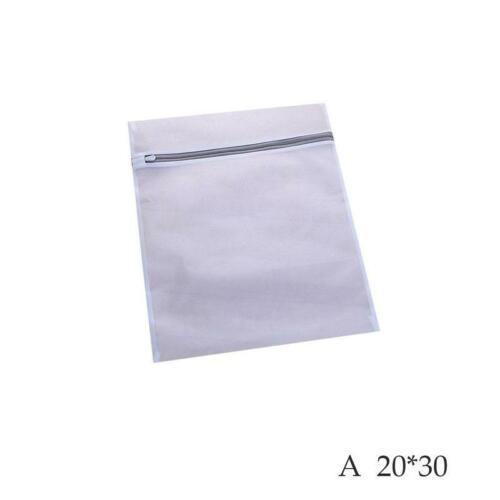 Zipped Wash Bag Net Laundry Washing Mesh Lingerie Underwear Clothes Socks 2019NE