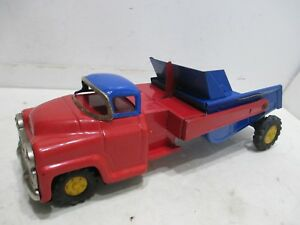 Details about GMC ORE DUMP TRUCK VERY GOOD WITH FRICTION MOTOR TESTED WORKS  MADE IN JAPAN