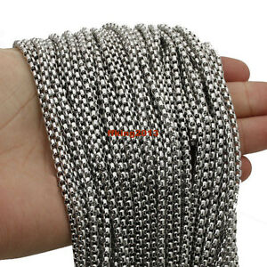 Wholesale-Lots-3-5-10-20meters-Stainless-Steel-Silver-Bulk-Factory-Box-Chain
